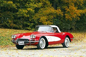 Click here to open the Chevrolet Corvette C1 V8 Convertible gallery