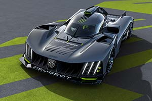 Click here to open the Peugeot 9X8 Hypercar gallery