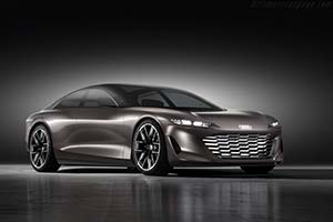 Click here to open the Audi Grandsphere Concept gallery