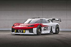 Click here to open the Porsche Mission R Concept gallery