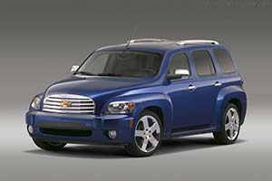 Click here to open the Chevrolet HHR 2LT gallery