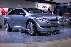 Click here to open the Toyota FT-SX Concept gallery