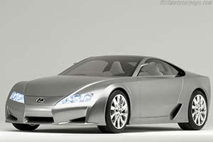 Click here to open the Lexus LF-A Concept gallery