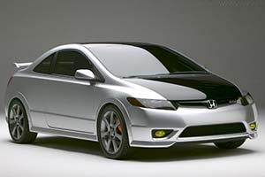 Click here to open the Honda Civic Si Concept gallery