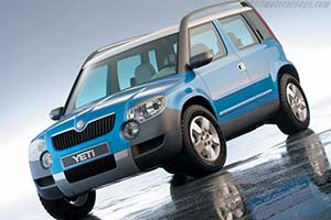Click here to open the Skoda Yeti gallery