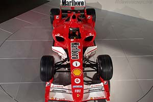 Click here to open the Ferrari F2005 gallery