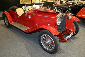 Click here to open the Alfa Romeo 6C 1500 Sports Two Seater gallery