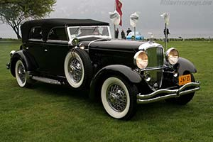 Click here to open the Duesenberg J Franay Convertible Sedan gallery