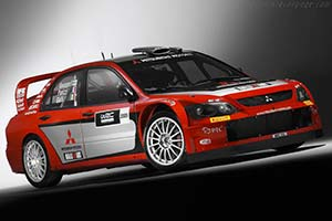 Click here to open the Mitsubishi Lancer WRC05 gallery