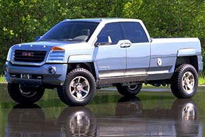 Click here to open the GM Terradyne Concept gallery