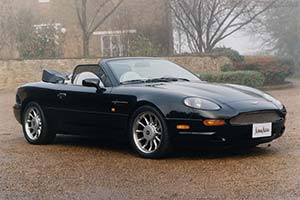 Click here to open the Aston Martin DB7 Volante gallery