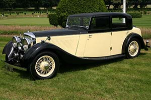 Click here to open the Bentley 3½ Litre Freestone & Webb Sports Saloon gallery