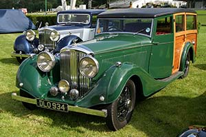 Click here to open the Bentley 4¼ Litre Vincents Shooting Brake gallery