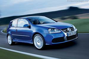 Click here to open the Volkswagen Golf V R32 gallery