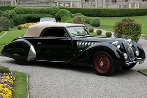 Click here to open the Alfa Romeo 6C 2300 B Worblaufen Cabriolet gallery