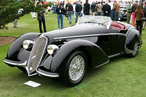 Click here to open the Alfa Romeo 8C 2900B Corto Touring Spider gallery