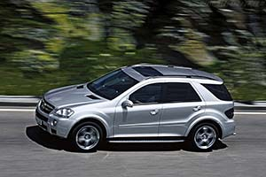 Click here to open the Mercedes-Benz ML 63 AMG gallery