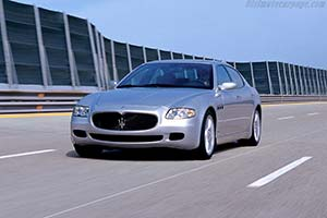 Click here to open the Maserati Quattroporte Sport GT gallery