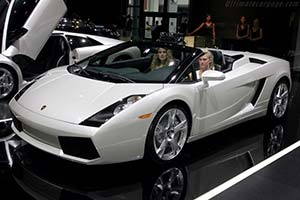 Click here to open the Lamborghini Gallardo Spyder gallery