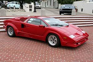 Click Here To Open The Lamborghini Countach 25th Anniversary Gallery