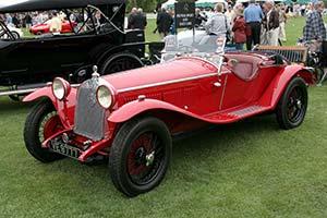 Click here to open the Alfa Romeo 6C 1750 SS Zagato Spider  gallery