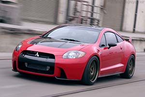 Click here to open the Mitsubishi Eclipse Ralliart Concept gallery