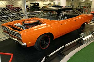 Click here to open the Plymouth Road Runner 440+6 HT Coupe gallery