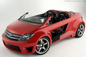 Click here to open the Scion xA Speedster Concept gallery