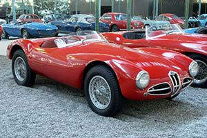 Click here to open the Alfa Romeo C52 Disco Volante 'Narrow Hipped' Spider gallery