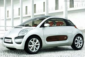 Click here to open the Citroën C-Airplay Concept gallery