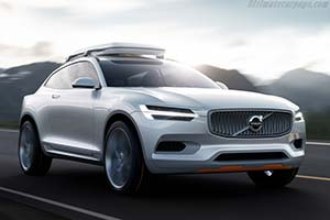 Click here to open the Volvo XC Coupé gallery