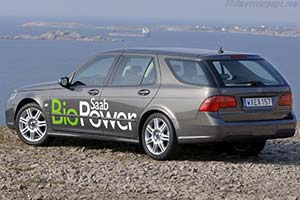 Click here to open the Saab 9-5 Aero BioPower Concept gallery