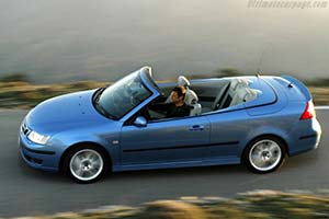 Click here to open the Saab 9-3 Convertible Cerulean Edition gallery