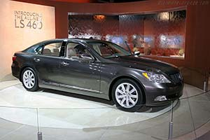 Click here to open the Lexus LS 460 gallery