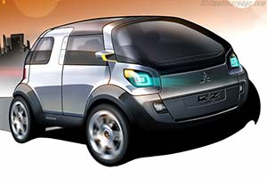 Click here to open the Mitsubishi Concept-EZ Miev gallery