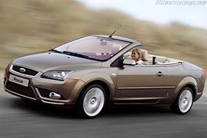 Click here to open the Ford Focus Convertible Coupe gallery