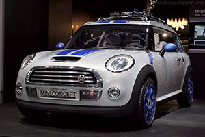 Click here to open the MINI Concept Detroit gallery