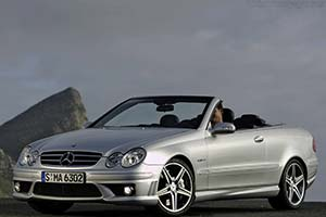 Click here to open the Mercedes-Benz CLK 63 AMG Cabriolet gallery