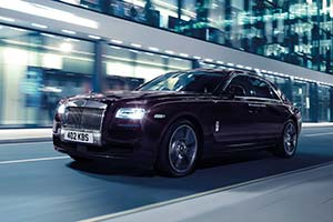 Click here to open the Rolls-Royce Ghost V-Specification gallery