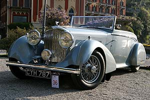 Click here to open the Bentley 4¼ Litre Mulliner Streamlined Drophead Coupe gallery