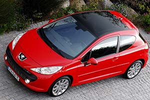 Click here to open the Peugeot 207 Turbo GT gallery