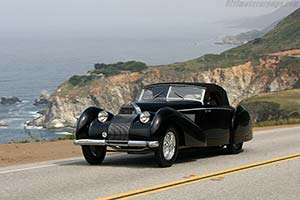 Click here to open the Bugatti Type 57 C Voll & Ruhrbeck Cabriolet  gallery