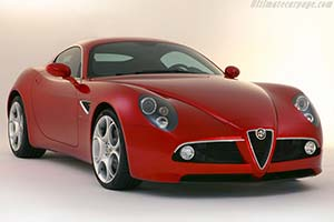 Click here to open the Alfa Romeo 8C Competizione gallery