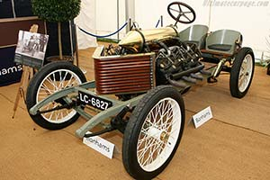 Click here to open the Darracq 200hp Sprint Special gallery