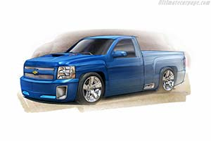 Click here to open the Chevrolet Silverado 427 Concept gallery
