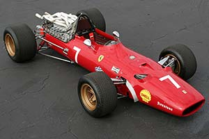 Click here to open the Ferrari 312/67 F1 gallery
