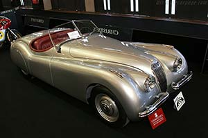Click here to open the Jaguar XK120 Alloy Roadster gallery