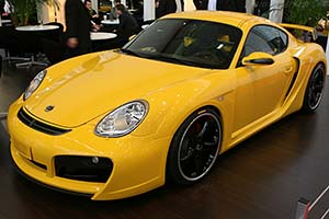 Click here to open the Techart Cayman Widebody gallery