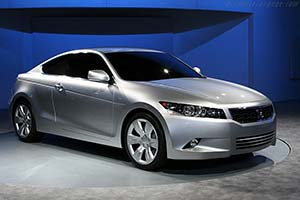 Click here to open the Honda Accord Coupe Concept gallery