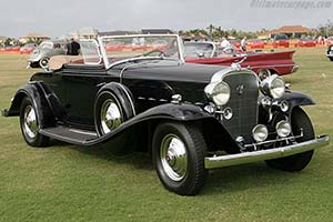 Click here to open the Cadillac 452 B V16 Fisher Convertible Coupe gallery
